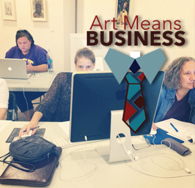 Art mean business feature